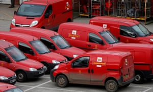 A Royal Mail sorting office in Altrincham