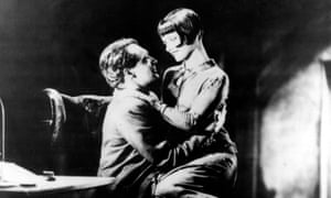 Bewitching … Gustav Diessl and Louise Brooks in Pandora's Box.