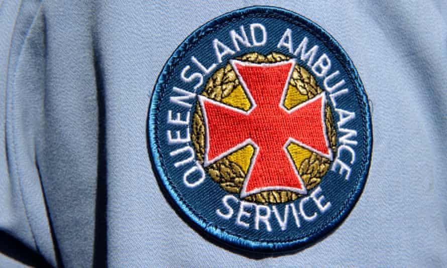 Queensland ambulance badge
