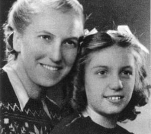Marie-Therese Walter (1909-1977), Picasso's mistress and model, with their daughter, Maya. Photographed circa 1945.