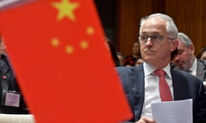 Malcolm Turnbull at the Australia China Business Council networking day at Parliament House on Tuesday.