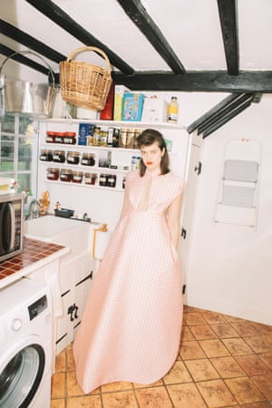 Gingham: dress by Emilia Wickstead