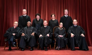 The supreme court justices photographed in November 2018