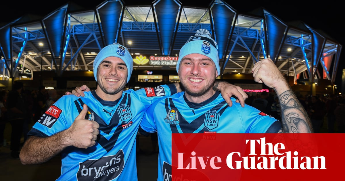 State of Origin 2021 Game 1: Qld Maroons v NSW Blues – live!
