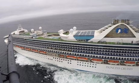 Coronavirus: thousands stranded on cruise ship off California after 21 cases confirmed