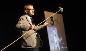 On the up: Hans Rosling of Gapminder gives a talk. His TED talk, The Best Stats You've Ever Seen, has been viewed more than 10m times.