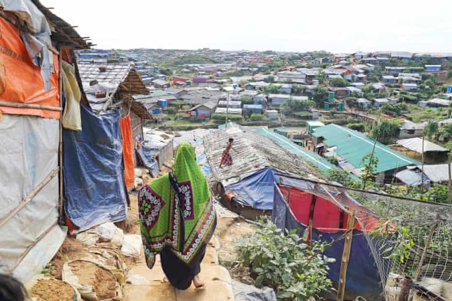 Cox's Bazar refugee settlement