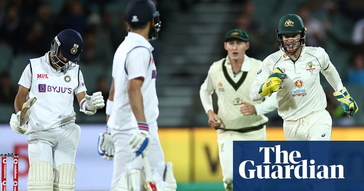 Australia edge ahead in Adelaide Test after India rue Virat Kohli run-out