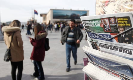 Newspapers for sale in Turkey
