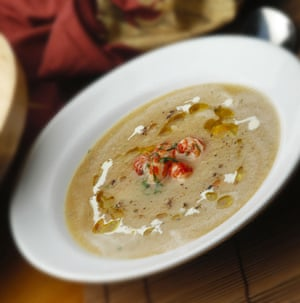 Bisque in traditional Cajun manner.