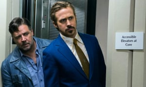 Crowe and Gosling in The Nice Guys.
