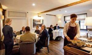 Sorrel restaurant: 'The dishes are exquisite.'