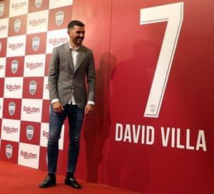 David Villa joined Vissel Kobe in 2018 after a successful spell with New York City FC in MLS.
