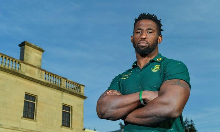 Siya Kolisi: 'We represent something much bigger than we can