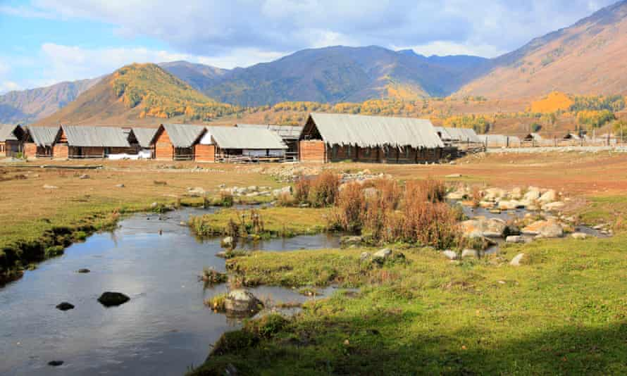The area's villages are traditional and largely untouched by tourism. Hemu village.