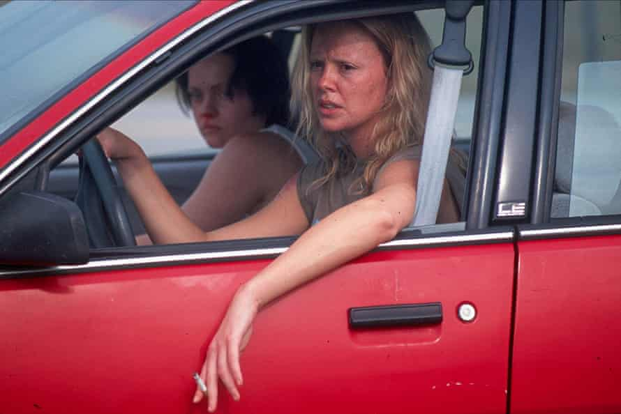 Christina Ricci and Charlize Theron in Monster