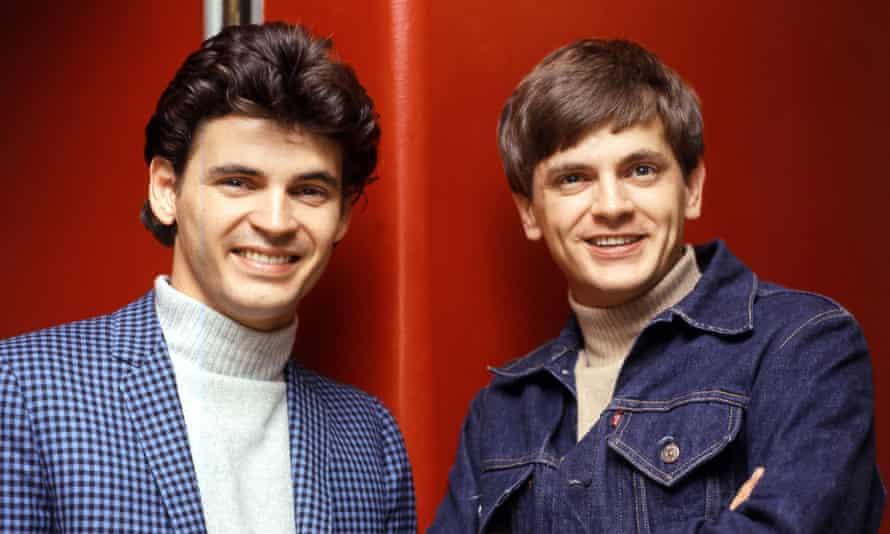 Don Everly (left) with his brother Phil.
