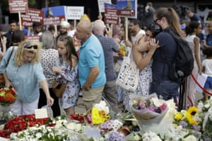 Commemorations were held on London Bridge on the first anniversary of a terrorist attack there.