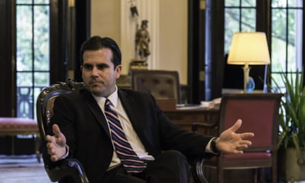Rosselló said: 'It is shameful to be a colonial territory in the 21st century, and for the United States to own one.'