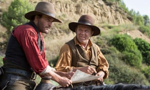 Joaquin Phoenix and John C Reilly in The Sisters Brothers.
