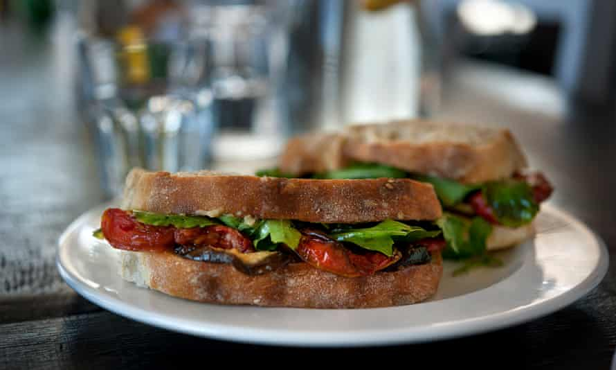 Tasty sandwiches from Glenwood Bakery