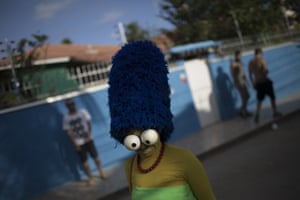 Marge Simpson carnival costume