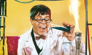 'If I'm not enjoying it, then I know there's something wrong' ... Jerry Lewis in The Nutty Professor.