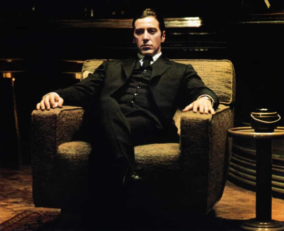 Al Pacino in The Godfather Part II.