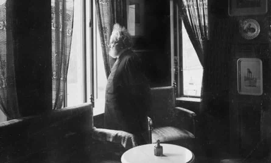 'Perhaps I should have come home sooner' … Ibsen in his flat in Oslo.