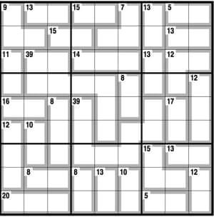 Killer Sudoku Lösen