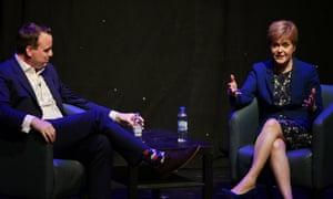 Nicola Sturgeon Appears On Comedian Matt Forde's Edinburgh Fringe Show