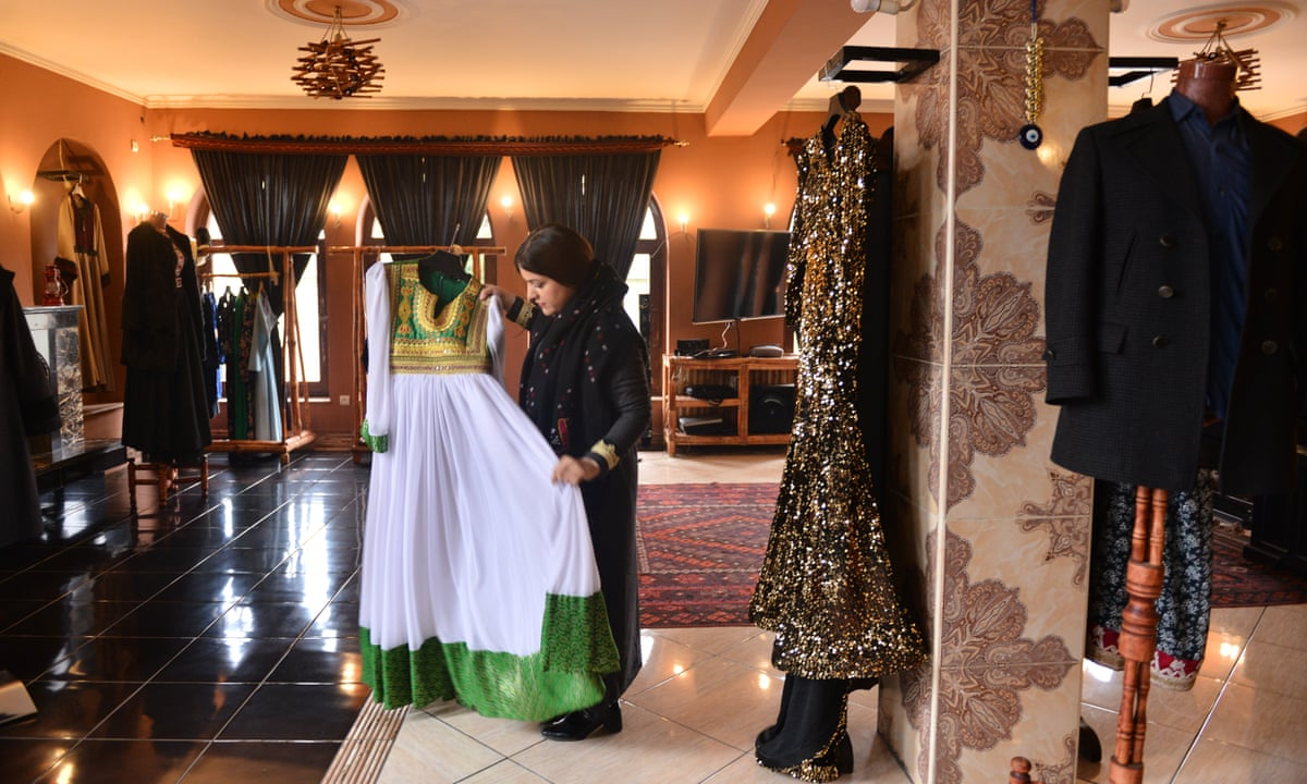 Dressing Afghanistan Young Designers Get Creative In Kabul Global Development The Guardian