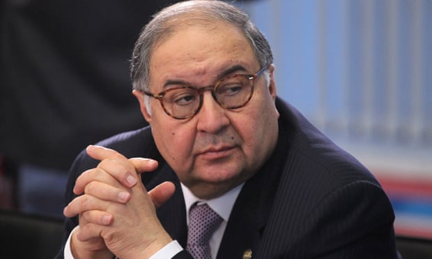 Alisher Usmanov, who owns a stake in Everton, had hoped to buy out Stan Kroenke at Arsenal.
