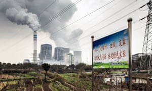 A coal-fired power station in Tongling, Anhui province, China
