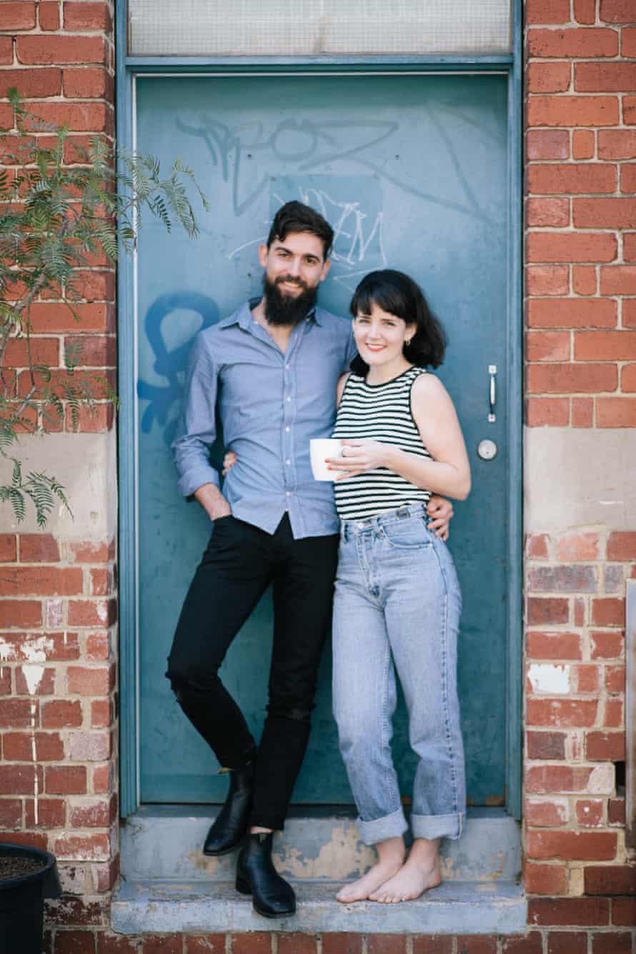 Jane and Francois Marx outside their social enterprise cafe in Melbourne.