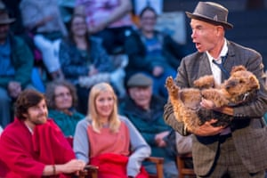 Audience favourite … Ruby the dog.