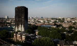 The neighbourhood boiler was located beneath Grenfell Tower and was destroyed in the fire.