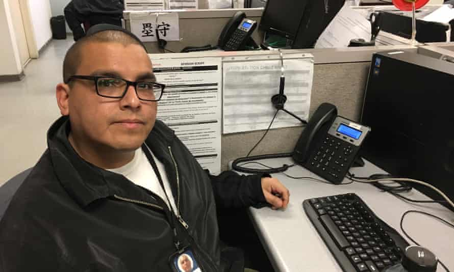 Jaime Castaneda, a Tijuana call center worker who was deported from the US.