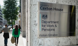 Signage for Caxton House, Department for Work and Pensions building