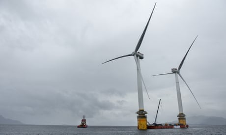 Weatherwatch: floating wind farms – the power source of the future