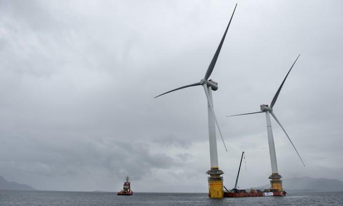 UK built half of Europe's offshore wind power in 2017