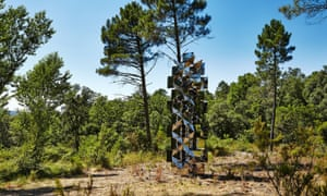 Francisco Sobrino's Transformation Instable at Domaine du Muy, Provence, France
