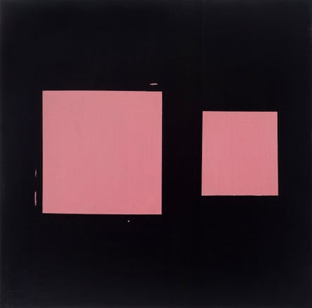 Mary Heilmann's Pink Sliding Square, 1978