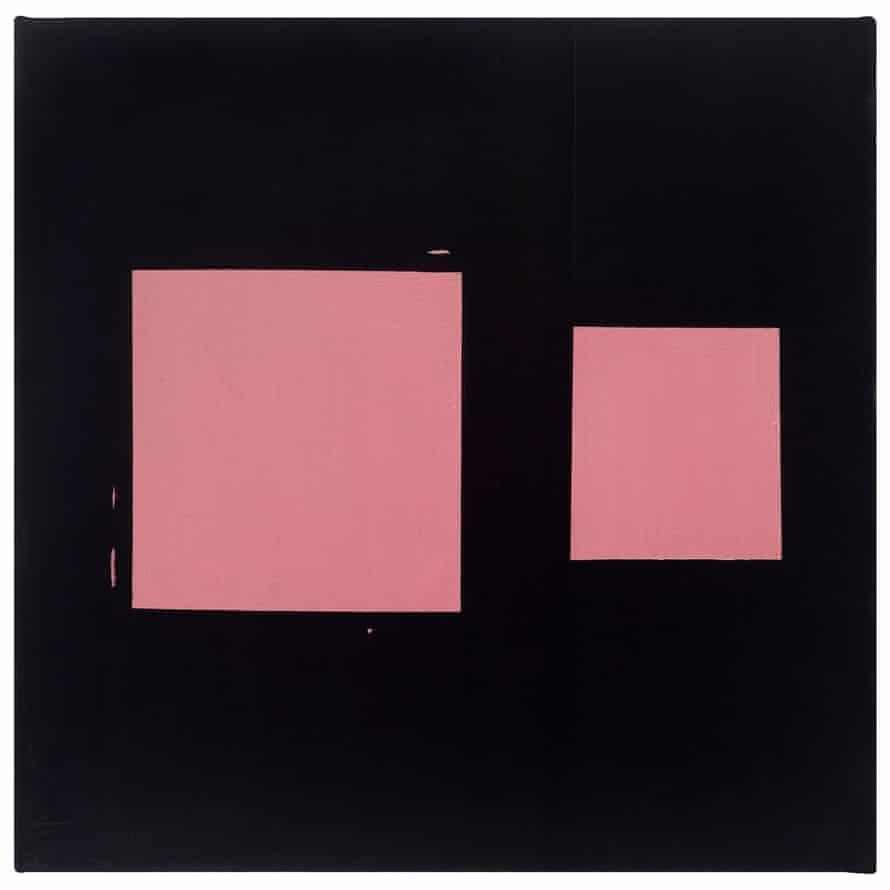 Pink Sliding Square, 1978.