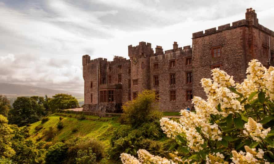 Muncaster Castle, Lake District, Cumbria, UK