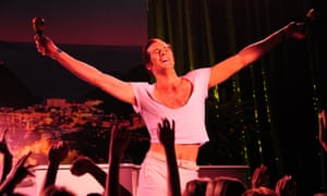 Strictly Ballroom, Priscilla and Kylie Minogue all walk in the shoes of Australia's greatest showman Peter Allen.