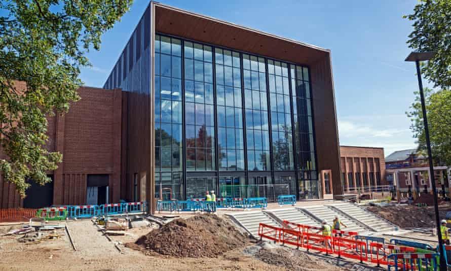 The new sports centre at Birmingham University