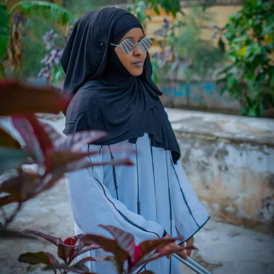 Poet Hawa Jama Abdi is a judge for the Somali poetry awards.