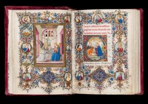 Book of Hours c. 1480 – c. 1490 Illuminated by Vante di Gabriello di Vante Attavanti (active c. 1480 – 1485) Florence, Italy Book of Hours illuminated by Vante di Gabriello di Vante Attavanti (act. c.1480-1485), Florence, c.1480 - c.1490 © Fitzwilliam Museum, Cambridge
