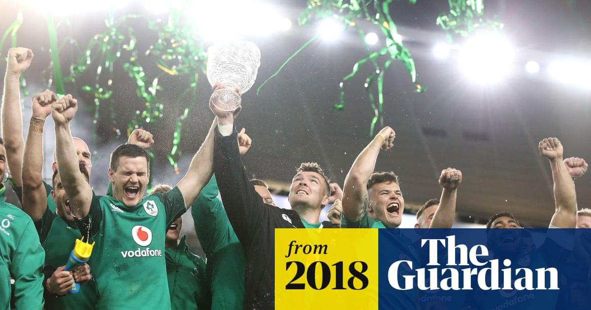Ireland defeat Australia to claim Lansdowne Cup in dramatic third